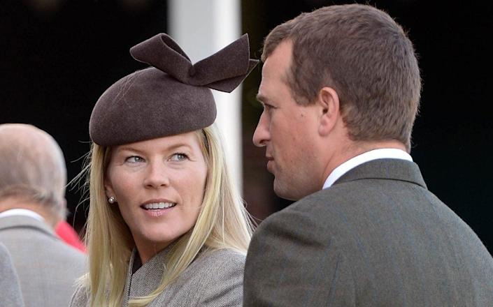 Autumn and Peter Phillips, pictured in 2015 - Andrew Parsons/i-Images
