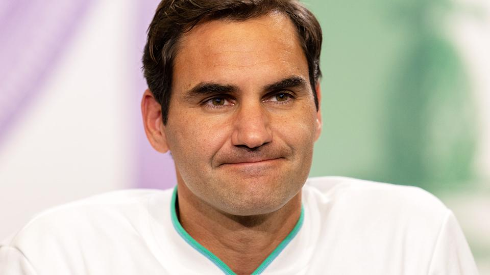 Roger Federer, pictured here after his loss in the quarter-finals at Wimbledon.