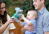 """<p>Like all members of the royal family, royal children must <a href=""""https://www.goodhousekeeping.com/life/g4817/odd-royal-family-rules/?slide=31"""" rel=""""nofollow noopener"""" target=""""_blank"""" data-ylk=""""slk:always accept a gift"""" class=""""link rapid-noclick-resp"""">always accept a gift</a> given by a well-wisher. </p>"""