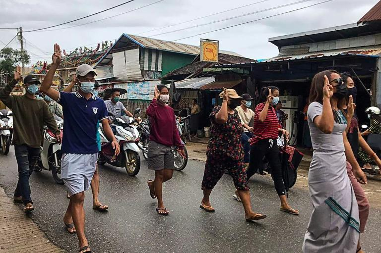 Myanmar has been in turmoil since the February coup, with daily protests against the military junta and scores of professionals going on strike crippling the country's economy
