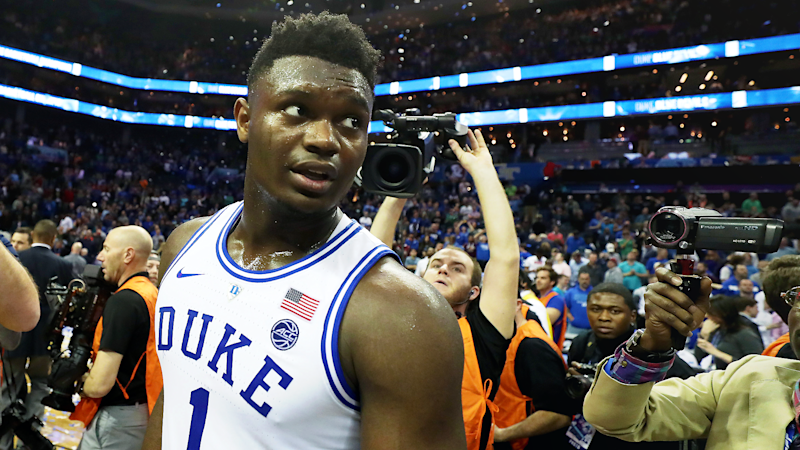 Zion Williamson's former agent alleges he received impermissible benefits to attend Duke