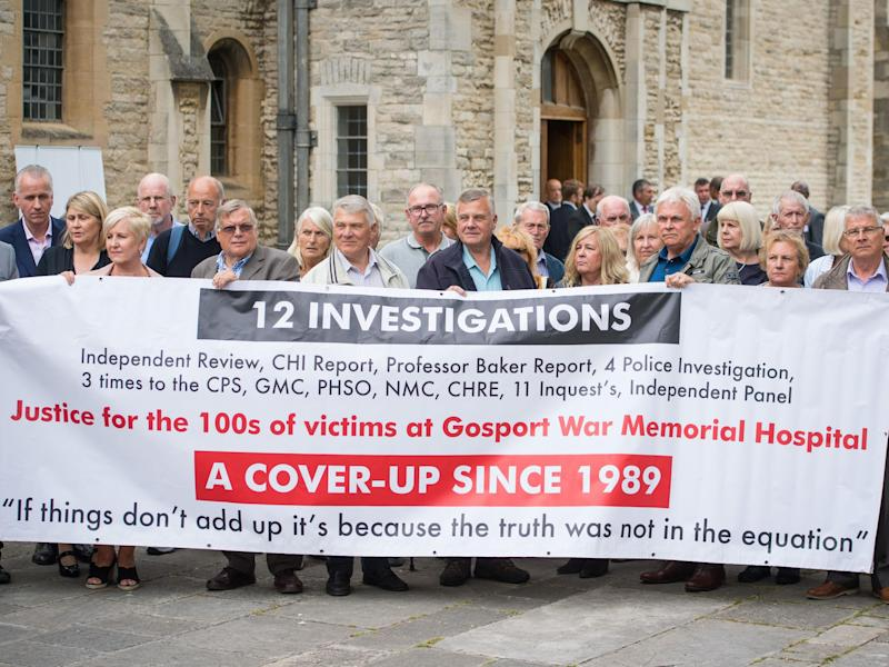 The inquiry says hospitals and police closed ranks and failed to investigate deaths: PA