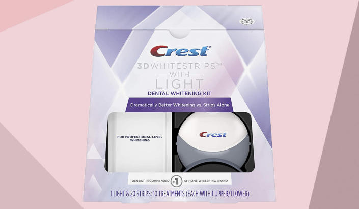Save 68 percent on Crest 3D Whitestrips. (Photo: Amazon)