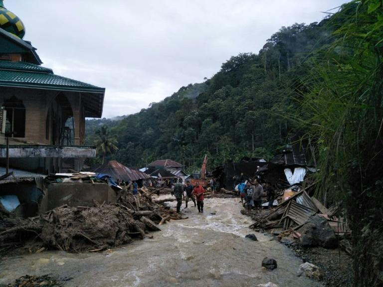 Dozens of houses have also been destroyed by floods and landslides