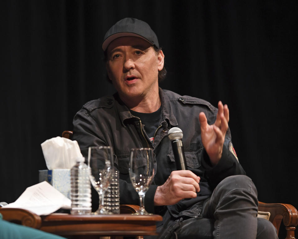 FORT LAUDERDALE FL - JULY 26: John Cusack attends a Screening for Say Anything at The Broward Center on July 26, 2019 in Fort Lauderdale, Florida. Credit: mpi04/MediaPunch /IPX