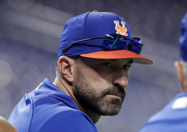 Mickey Callaway says his questionable bullpen decision was all part of his master plan. (AP Photo)