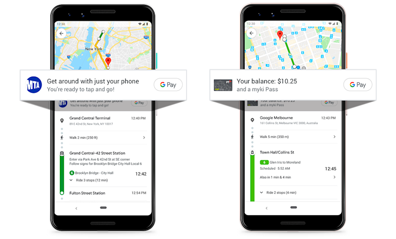 Google Maps will soon let subway riders know which stations accept Google Pay and tell you how to get there.