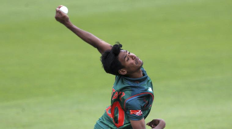 mustafizur rahman, india vs bangladesh, icc champions trophy, indian express