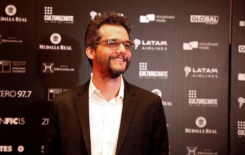 Brazilian director and screenwriter Wagner Moura poses for a picture during the SANFIC International Film Festival in Santiago, Chile August 18, 2019. REUTERS/Rodrigo Garrido