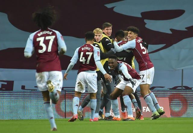 Aston Villa's youngsters faced Liverpool in the FA Cup