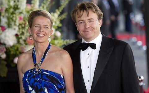 Prince Johan Friso and his wife, Princess Mabel, in 2011 - Credit: TOUSSAINT KLUITERS/AFP/Getty Images