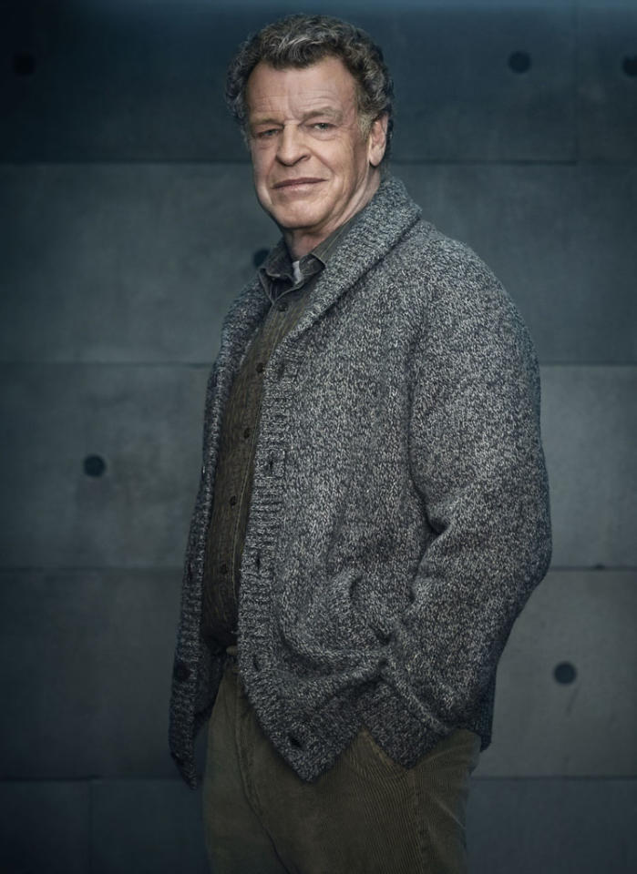 "John Noble returns as Walter Bishop in Season Five of ""Fringe."""