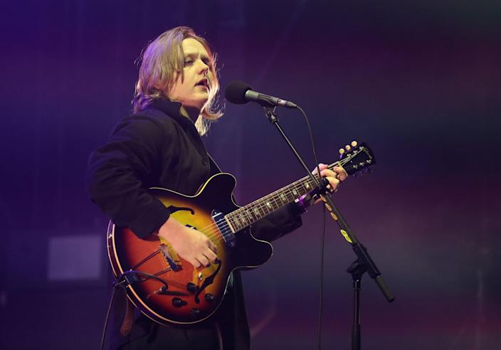 """Lewis Capaldi played a surprise Glastonbury gig on a small BBC Music stage, the day before he is due to make his Other Stage debut.The Scottish hitmaker, who has just released his album Divinely Uninspired To A Hellish Extent, played a packed out BBC Music Introducing Stage with a six-song set on Friday.Capaldi said that the impromptu gig was a way of """"saying thank you"""" to the BBC stage, which showcases new and unsigned acts, for helping him out in the early stages of his career. After opening the set with Grace, Capaldi said: """"Surprise! I was half expecting to come on stage and everyone's waiting to see who it is.> Amazing response to @LewisCapaldi's set at the @bbcintroducing stage. glastonbury pic.twitter.com/dkkHOJE3JV> > — Mark Savage (@mrdiscopop) > > 28 June 2019""""They say Lewis Capaldi and everyone goes 'See you later'. You've stayed, so thanks for that.""""Glastonbury's official Twitter account called the set a """"great way to start the afternoon"""", as they shared snaps of the """"surprise set"""".> What a great way to start an afternoon! A surprise set from Lewis Capaldi at BBC Introducing Stage...sounding incredible. RG pic.twitter.com/YqKE6lyFir> > — Glastonbury Live (@GlastoLive) > > 28 June 2019On Saturday, the 22-year-old will play the Other Stage in the afternoon ahead of The Killers headlining. He previously joked that he was going to """"bottle it"""" and topple his so-far successful career with the set. Alongside a series of funny snaps of himself and a teddy bear on Instagram, Capaldi wrote: """"I'M PLAYING GLASTONBURY. Saturday at 4pm on the Other Stage if you want to see me bottle it and end my career x.""""> View this post on Instagram> > I'M PLAYING GLASTONBURY 🤯 Saturday at 4pm on the Other Stage if you want to see me bottle it and end my career ❤️x> > A post shared by Lewis Calamari (@lewiscapaldi) on May 29, 2019 at 4:49am PDTThe accompanying snaps showed Capaldi larking around with a big soft toy and taking a selfie with the oversized stuffed animal as well as gi"""
