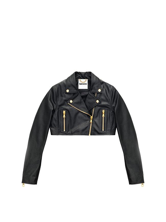 <p>MOSCHINO [tv] H&M: biker crop, por 299 euros.</p>