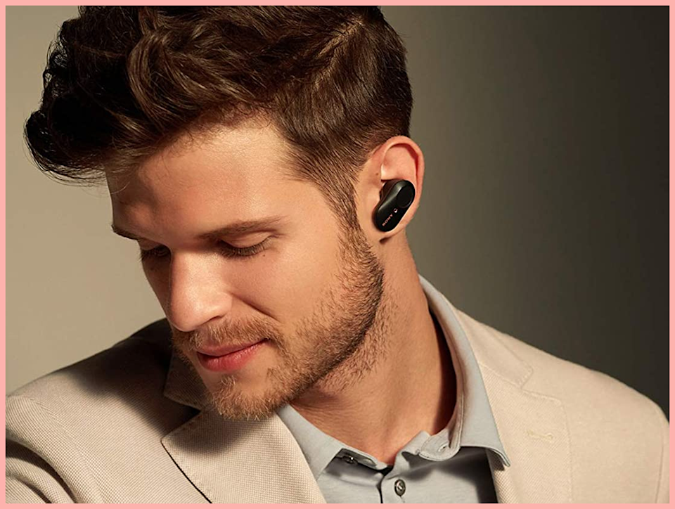 Snag these premium noise-canceling wireless earbuds for just $178! (Photo: Sony)