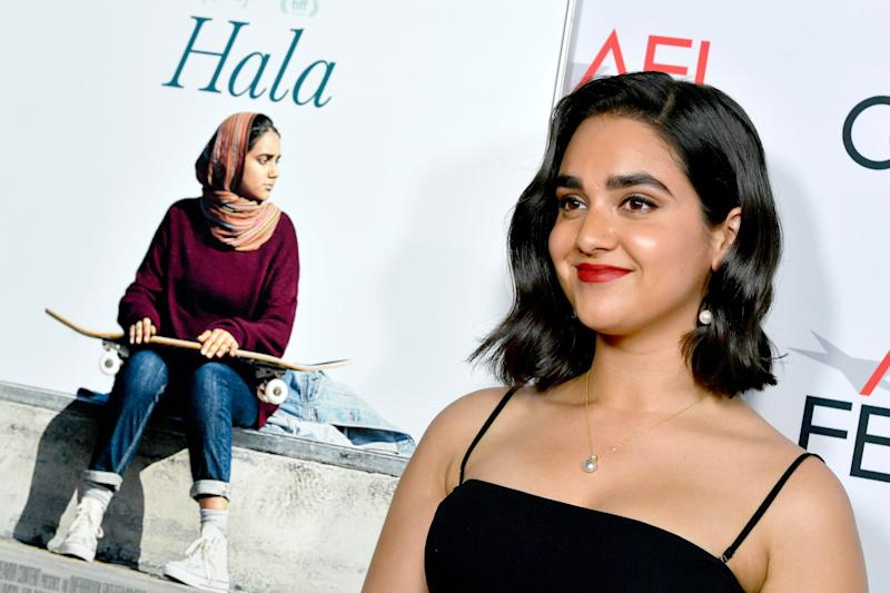 Geraldine Viswanathan plays a 17-year-old first-generation Pakistani-American.