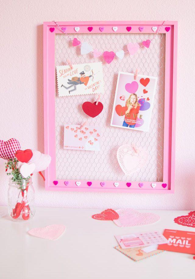 """<p>Every time you catch a glimpse of the valentines on this framed display, you'll be reminded of all the love (and crafters!) you have in your life.</p><p><em><a href=""""https://designimprovised.com/2019/01/diy-valentine-card-display.html"""" rel=""""nofollow noopener"""" target=""""_blank"""" data-ylk=""""slk:Get the tutorial at Design Improvised »"""" class=""""link rapid-noclick-resp"""">Get the tutorial at Design Improvised »</a></em></p>"""