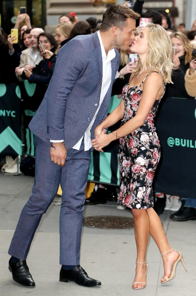 colton underwood and cassie randolph, steve madden stecy sandals