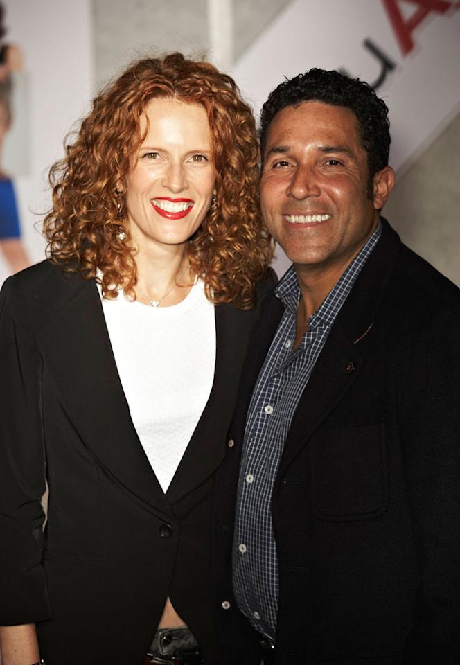 """<a href=""""http://movies.yahoo.com/movie/contributor/1804518221"""">Oscar Nunez</a> and wife attend the Los Angeles premiere of <a href=""""http://movies.yahoo.com/movie/1810111331/info"""">You Again</a> on September 22, 2010."""