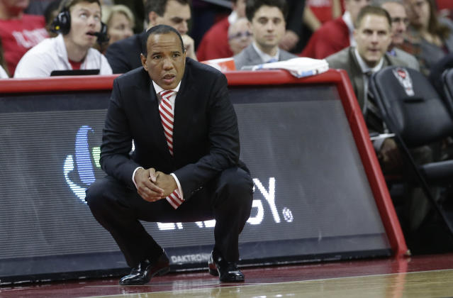 NC State snagged the first big win of the Kevin Keatts era, toppling No. 2 Arizona on Wednesday night. (AP)