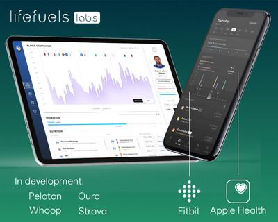 New features are in-development with Peloton, Whoop, Oura, Strava, and Google Fit. The App currently integrates with Apple Health and Fitbit.
