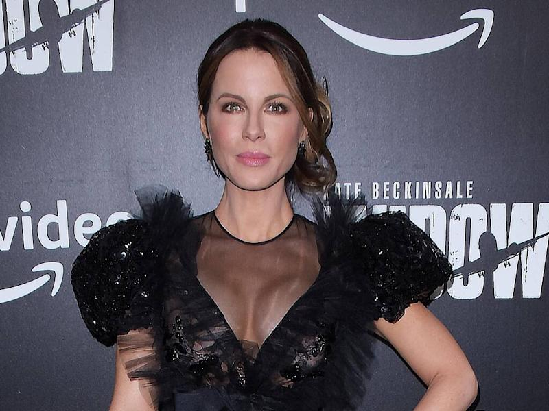 Kate Beckinsale enjoys trampolining to keep fit