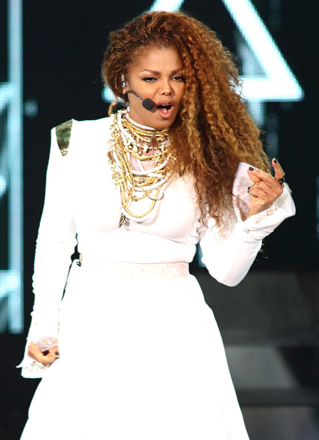 <p>Only album to spawn seven top five hits on the Hot 100: Janet Jackson's Rhythm Nation 1814 (1989-91). Also: Only album by a female artist to spawn seven top 10 hits. And: Only artist with three albums that each spawned five or more top 10 hits. (Photo: Alexander Tamargo/Getty Images) </p>