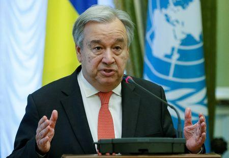 United Nations chief Guterres condemns racism, xenophobia