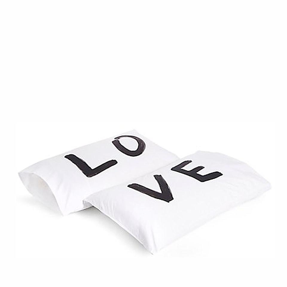 We love a fresh pillowcase. It's an added bonus that they add to the interior aesthetic.