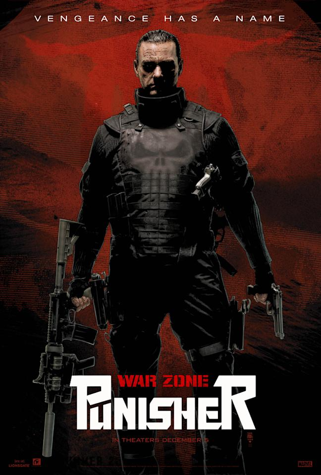 """Comic-Con poster for Lionsgate's <a href=""""http://movies.yahoo.com/movie/1809961146/info"""">Punisher: War Zone</a> - 2008"""