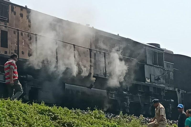 Two Feared Dead after Fire Breaks Out in Chandigarh-Dibrugarh Express