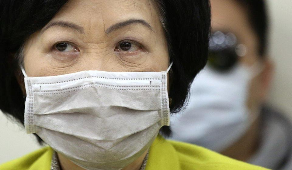 Lawmaker Regina Ip Lau Suk-yee is against the HKEX's proposal. Photo: Jonathan Wong