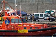 Spain's Salvamento Maritimo coastguard rescued a boat carrying 52 people who had spent days at sea surviving on seawater