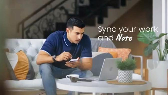 Sync your work dan Note.
