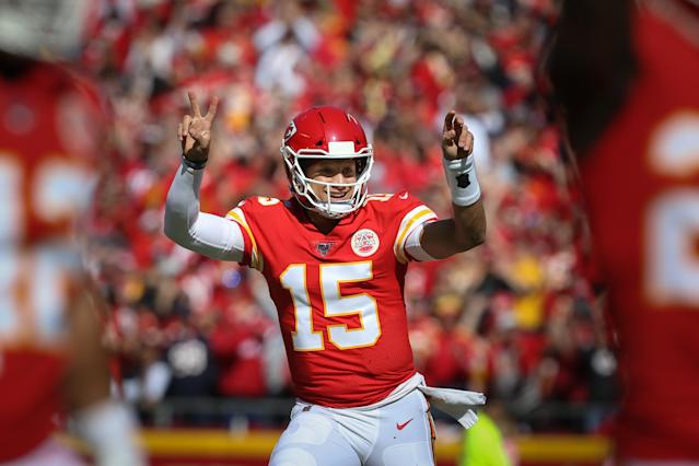 No one is questioning the Kansas City Chiefs for trading a future first-round pick for Patrick Mahomes. (Getty Images)