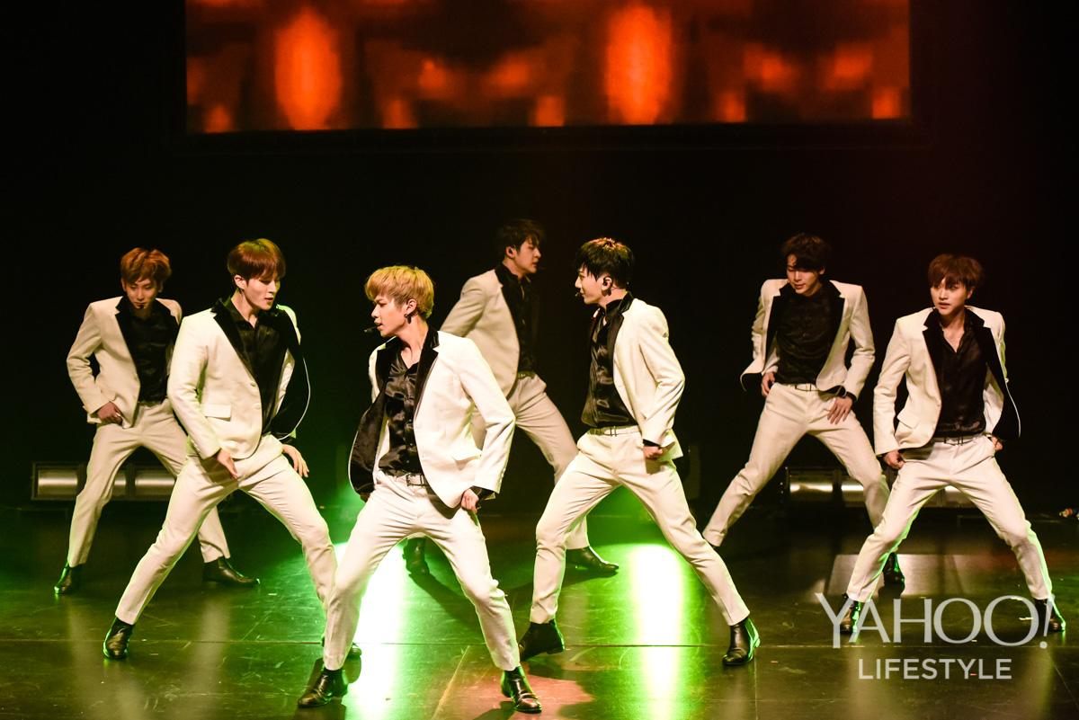 PHOTOS: K-pop group IN2IT thrill Singapore fans at SOTA