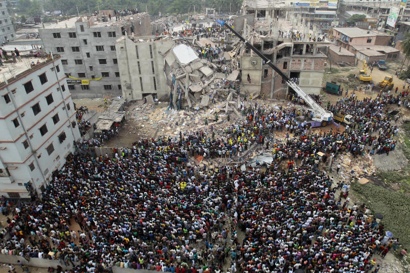 40 survivors found in Bangladesh building debris
