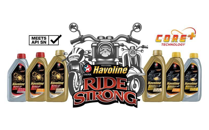Caltex Havoline new motorcycle products raise the bar