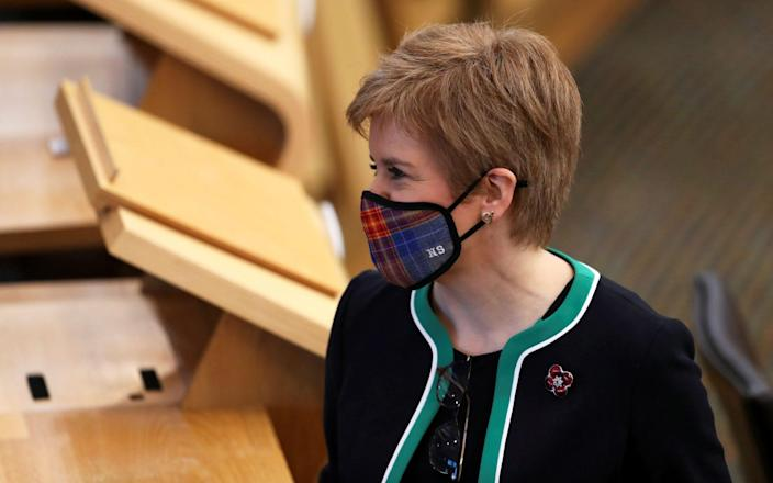 Business groups have urged Nicola Sturgeon not to put Scotland into full lockdown - AFP