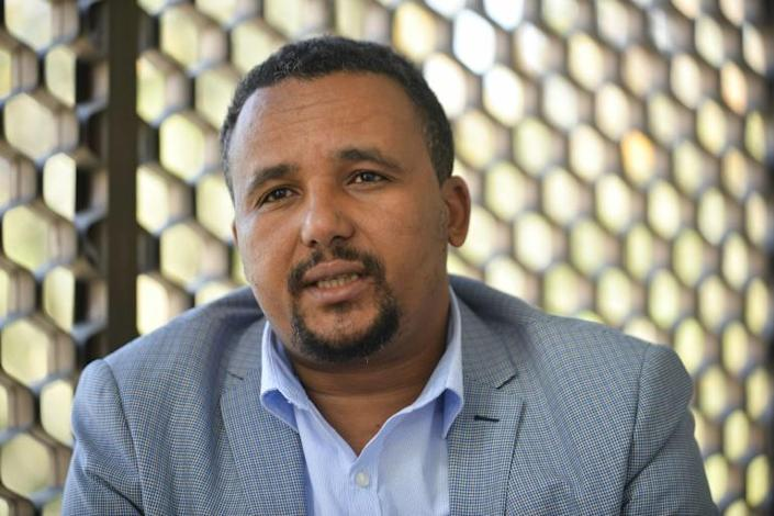 Prominent opposition politician Jawar Mohammed was arrested after he and others tried to intercept Hachalu's body and return it to the capital (AFP Photo/Michael Tewelde)