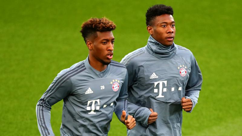 Alaba, Coman to face Liverpool in boost for Bayern Munich