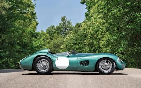 The 1956 DBR1 which sold for £17.5 million - Credit: South West News Service