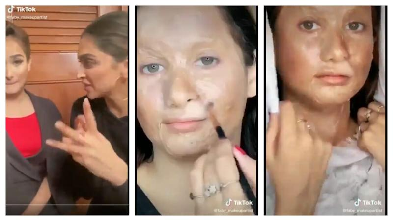 Deepika Padukone Criticised for Challenging Makeup Artist to Recreate Look From Chhapaak on TikTok (Read Tweets)