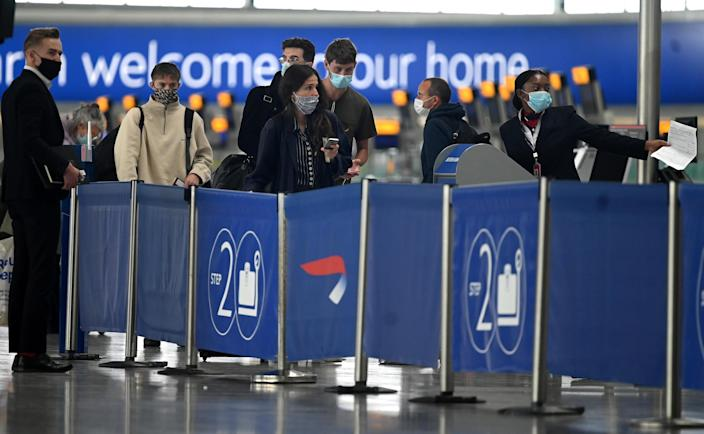 The new quarantine measures were prompted by a rise in coronavirus cases in France and other countries. Photo: Daniel Leal-Olivas / AFP