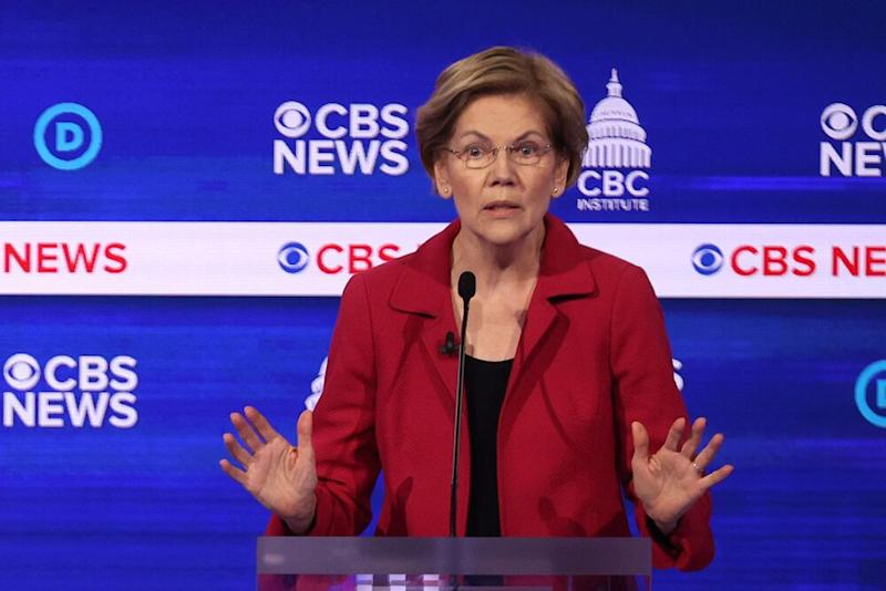 Warren unloads on Bloomberg at Dem debate