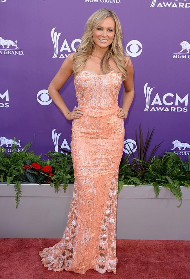 LAS VEGAS, NV - APRIL 07:  Musician Jewel attends the 48th Annual Academy of Country Music Awards at the MGM Grand Garden Arena on April 7, 2013 in Las Vegas, Nevada.  (Photo by Jason Merritt/Getty Images)