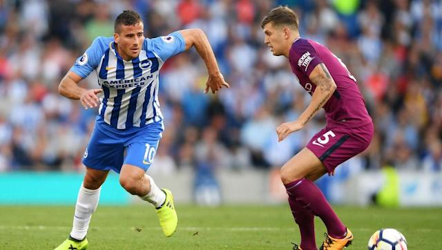 <p>It's no disgrace to lose to Manchester City, such is Pep Guardiola's side's attacking talent, but you have to give yourself a chance.</p> <br><p>Up front, Tomer Hemed and Pascal Gross could do little but hassle and hope for the best, and unsurprisingly they were unable to rustle any feathers.</p> <br><p>If they want to come away from the King Power with three points, they'll need an attacking outlet to give them respite in possession and allow them to mount attacks.</p>