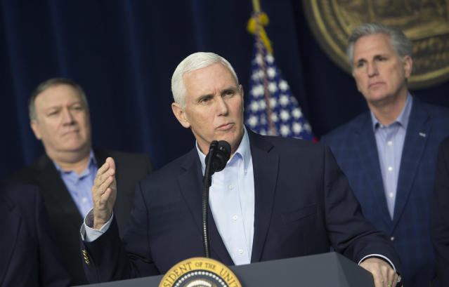 U.S. Vice President Mike Pence. (Getty)