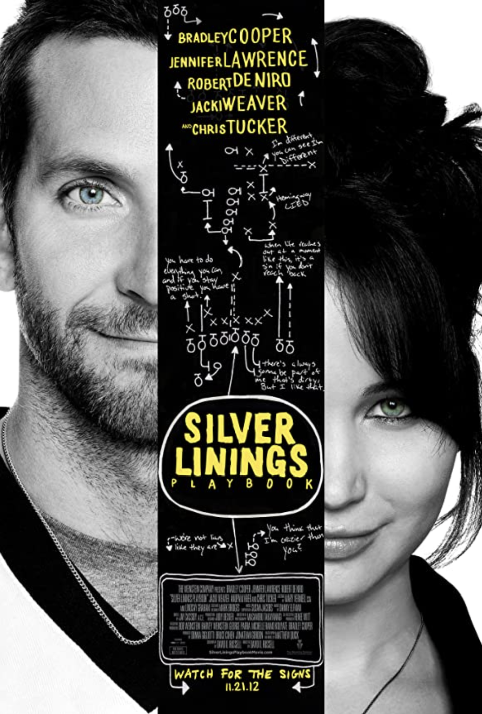 """<p><a class=""""link rapid-noclick-resp"""" href=""""https://www.amazon.com/Silver-Linings-Playbook-Bradley-Cooper/dp/B00BYKIKJS/?tag=syn-yahoo-20&ascsubtag=%5Bartid%7C10070.g.37644376%5Bsrc%7Cyahoo-us"""" rel=""""nofollow noopener"""" target=""""_blank"""" data-ylk=""""slk:STREAM NOW"""">STREAM NOW</a></p><p>Pat and Tiffany may be dysfunctional in their own ways, but they just seem to get one another, which makes watching their connection grow that much more interesting. Football also features heavily in this film, giving it a distinct autumnal vibe.</p>"""