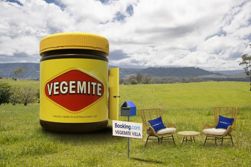 The Vegemite Villa is open in Bega from tomorrow, Wednesday December 4th. Photo: Supplied.